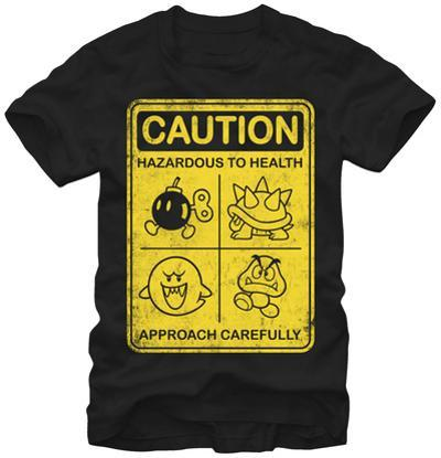 Super Mario- Caution Approach Carefully
