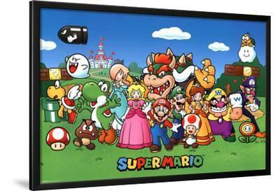 Super Mario - Characters
