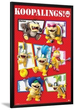 Super Mario- Koopalings!