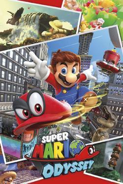 Super Mario Odyssey - Collage