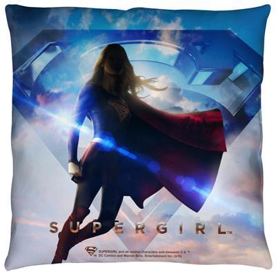 Supergirl - Endless Sky Throw Pillow