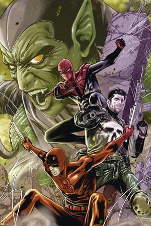 Superior Spider-Man Team-Up No. 10: Punisher, Spider-Man, Daredevil, Green Goblin