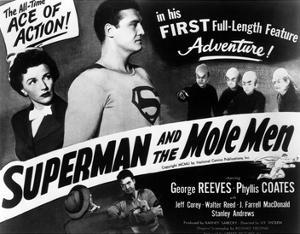 Superman And the Mole Men, Phyllis Coates, George Reeves, 1951