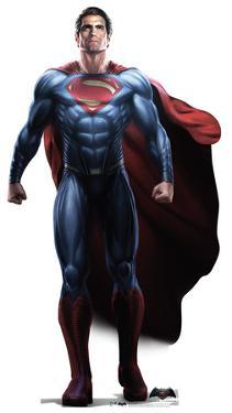 Superman - Batman v Superman: Dawn Of Justice Lifesize Cardboard Cutout