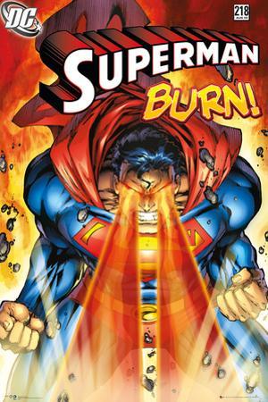 Superman - Burn