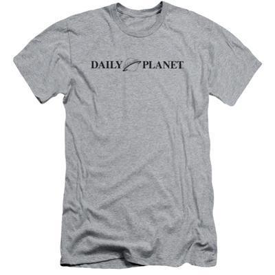 Superman- Daily Planet Logo Slim Fit