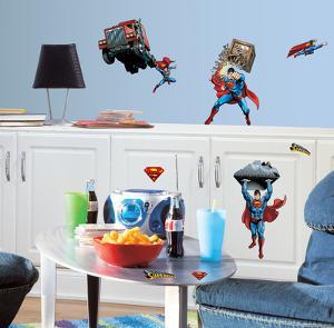 Superman - Day Of Doom Peel & Stick Wall Decals