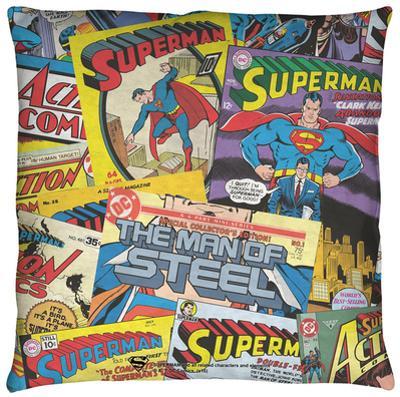 Superman - Fan Throw Pillow