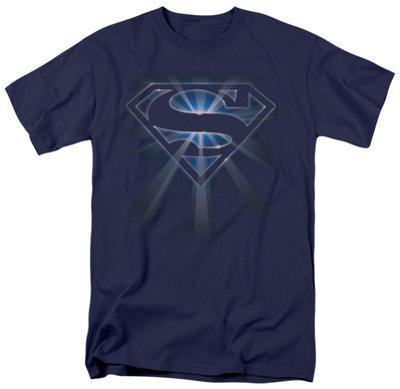 Superman - Glowing Shield