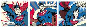 Superman (Pop Art Triptych)