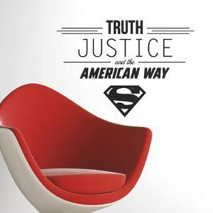 Superman Quote Peel and Stick Wall Decals