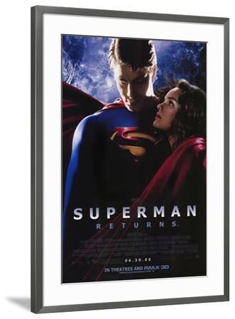 Superman Returns--Framed Poster