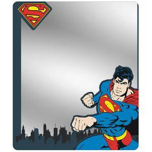 Superman - Skyline Blues Locker Mirror