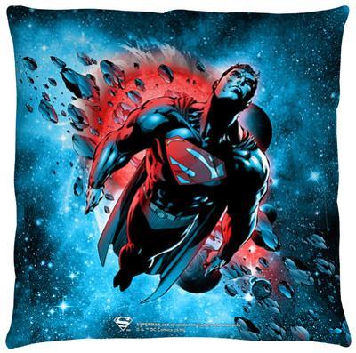 Superman - Super Cosmos Throw Pillow