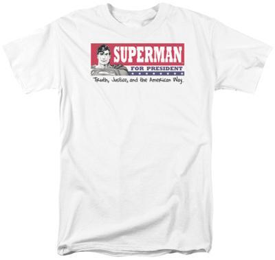 Superman- Superman For President