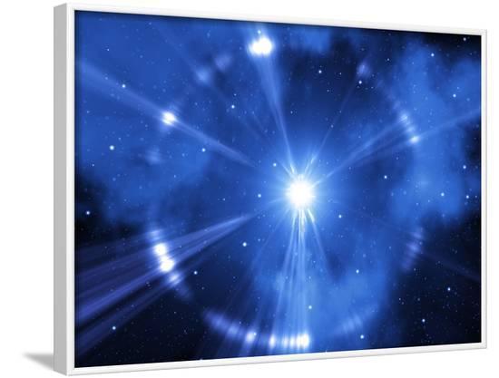 Supernova Explosion, Artwork-Mehau Kulyk-Framed Photographic Print