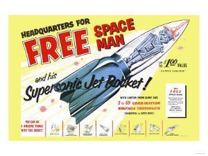 Supersonic Jet Rocket