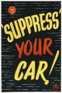 'Suppress' Your Car!