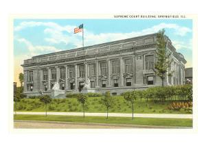 Supreme Court Building, Springfield, Illinois