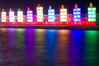 Hanukkah Lights by suprunvitaly