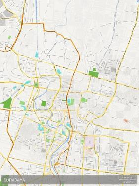 Surabaya, Indonesia Map