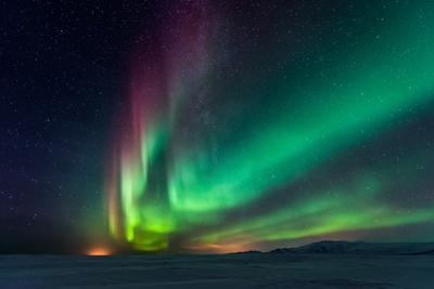 Aurora Borealis, Northern Lights by SurangaWeeratunga