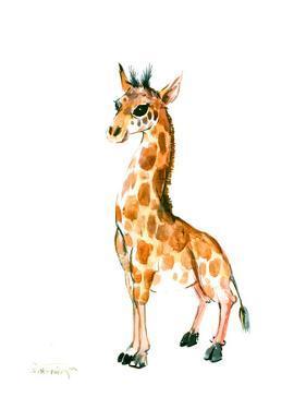 Baby Giraffe by Suren Nersisyan