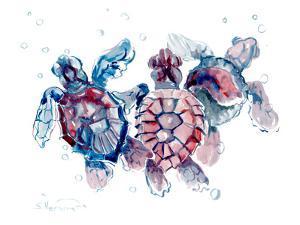 Baby Sea Turtles by Suren Nersisyan