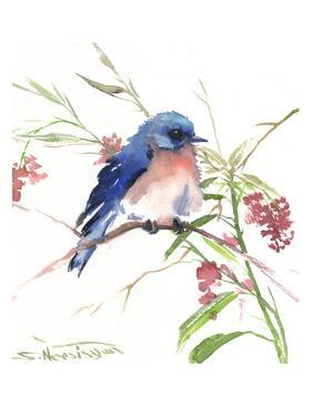 Blue Bird 8 by Suren Nersisyan