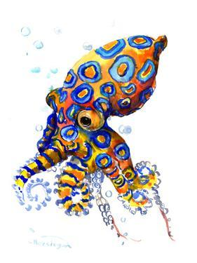 Blue Spoted Octopus by Suren Nersisyan