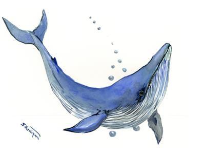 Blue Whale by Suren Nersisyan