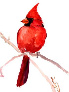 Cardinal Bird 2 by Suren Nersisyan