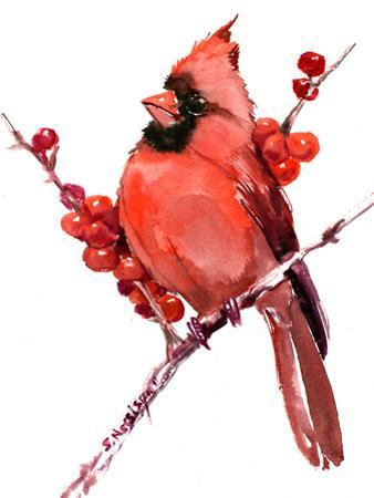 Cardinal Bird 5 by Suren Nersisyan