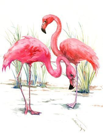 Flamingos 2 by Suren Nersisyan