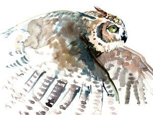 Flying Owl by Suren Nersisyan