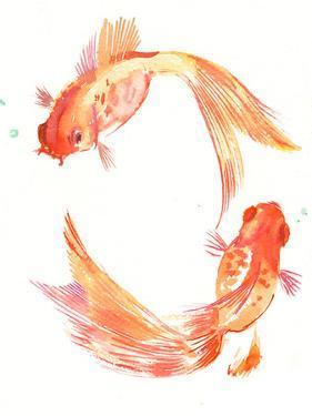 Goldfish Feng Shui by Suren Nersisyan