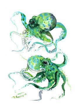 Green Octopuse by Suren Nersisyan