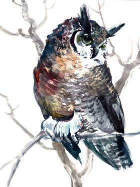 Horned Owl 1 by Suren Nersisyan
