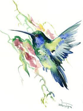 Hummingbird Indigo by Suren Nersisyan