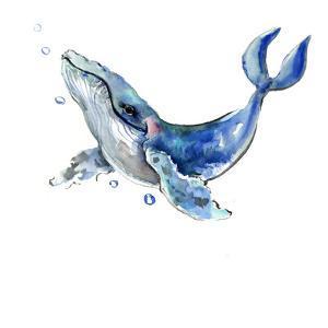 Humpback Whale 3 by Suren Nersisyan