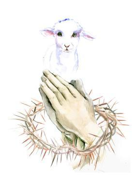 Lamb Pray by Suren Nersisyan