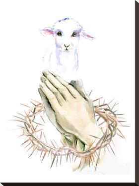 Lamb Pray by Suren Nersisyan