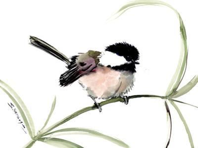 Little Bird Chickadee by Suren Nersisyan