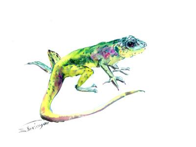 Lizard 3 by Suren Nersisyan