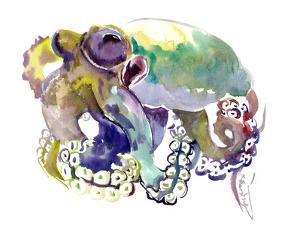 Octopus Soft Colors by Suren Nersisyan