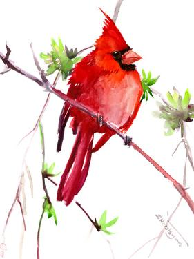 Red Cardinal 3 by Suren Nersisyan