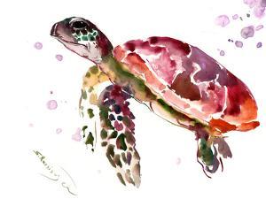 Sea Turtle 1 by Suren Nersisyan