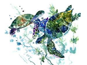 Sea Turtle 4 by Suren Nersisyan