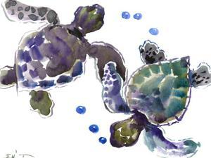 Sea Turtle 8 by Suren Nersisyan