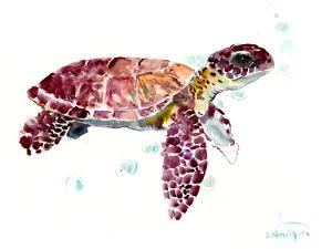 Sea Turtle Cherry by Suren Nersisyan